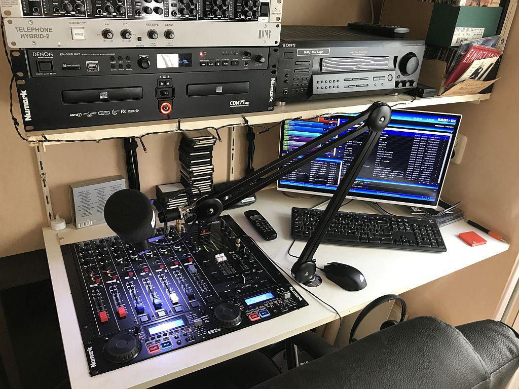 Nieuwe muis in de studio