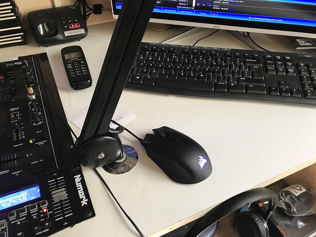 Nieuwe muis in de studio 2